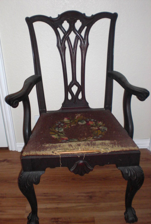 For Sale Queen Anne Transitional Chippendale Style