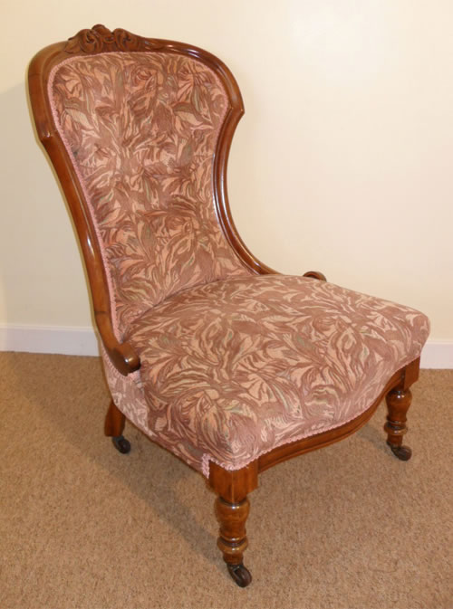 A Good Quality Victorian Nursing Chair C1870 - Antique Nursing Chairs Both For Sale And Wanted On The Antique