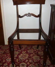 A set of four ROSEWOOD William 1V dining chairs all in excellent condition