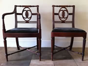 I am looking for matching Mahogany Regency Dining chairs and carvers to those pictured