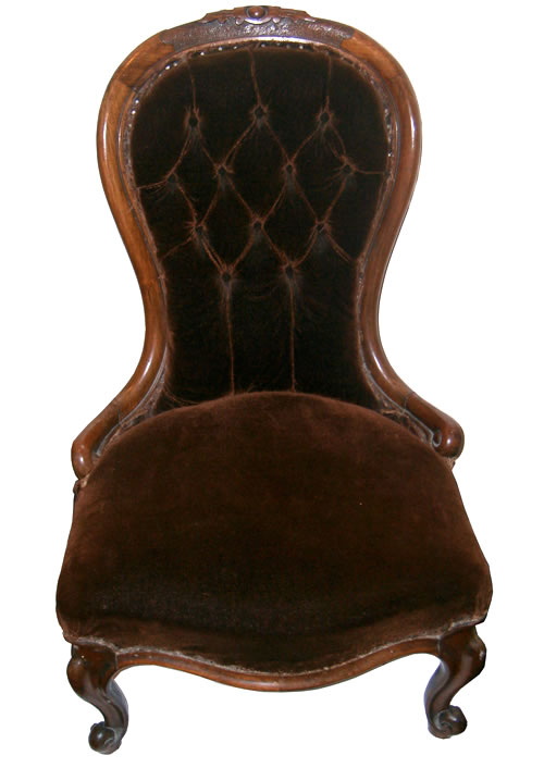 Victorian walnut cabriole leg nursing chair - Antique Nursing Chairs Both For Sale And Wanted On The Antique Chair